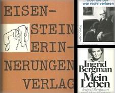 Autobiographien, Briefwechsel, Tagebücher Sammlung erstellt von Antiquariat Axel Kurta