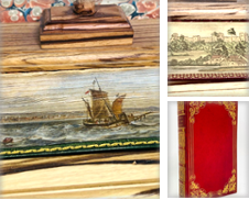 Fore Edge Paintings Curated by E.C. Rare Books.