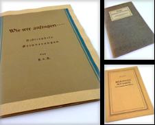 006 Bibliophilie Sammlung erstellt von Antiquariat Dietmar Brezina