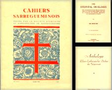 Elsaß und Lothringen Sammlung erstellt von Versandantiquariat Bernd Keßler