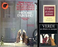 Opéra Bel Canto Opérette Proposé par Librairie musicale Thierry Legros