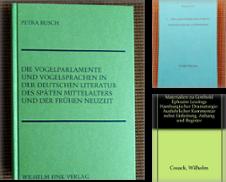 Germanistik Sammlung erstellt von Antiquariat J. Kitzinger