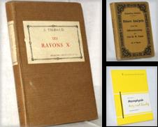 Allg Naturwissenschaften Sammlung erstellt von Antiquariat partes antiquares