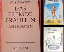 Anekdoten Sammlung erstellt von Buchstube Tiffany