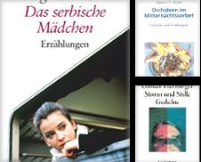 Deutsche Literatur Sammlung erstellt von Versandantiquariat Christoph Groß