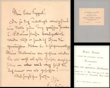 Autographen Sammlung erstellt von Antiquariat Michael Eschmann