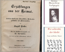 Deutsche Literatur Sammlung erstellt von Oberländer antiquarischer Buchversand