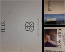 Bibliothek Friedrich HOELDERLIN Sammlung erstellt von Bouquiniste