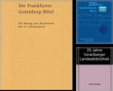 Buchwesen, Archivwesen, Museumswesen Sammlung erstellt von Antiquariat Lilabi