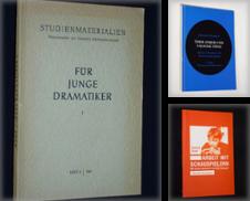 Ausbildung Sammlung erstellt von Antiquariat Fast alles Theater!