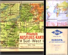 Atlanten-Karten Sammlung erstellt von Antiquariat Ingrid Degutsch