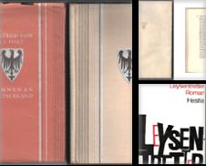 Belletristik Sammlung erstellt von Antiquariat ExLibris Erlach Eberhard Ott