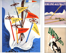 Ski Posters Curated by AntikBar Original Vintage Posters