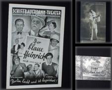 Ansichtskarten Sammlung erstellt von Antiquariat Fast alles Theater!
