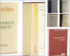 C 03 Sytemat Sammlung erstellt von Antiquariat Lehmann-Dronke