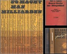 Biographien Sammlung erstellt von Antiquariat Hohmann