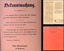 Flugblaetter Sammlung erstellt von Antiquariat Harald Holder