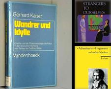 Literaturwissenschaft Sammlung erstellt von modernes antiquariat f. wiss. literatur
