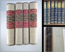 1120 Gesamtausgaben Sammlung erstellt von REDIVIVUS Buchhandlung & Antiquariat