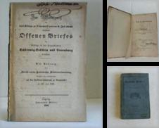 Alte Drucke vor 1850 Sammlung erstellt von CeBuch