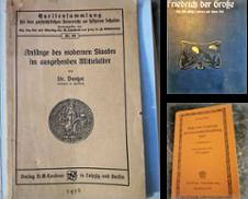 Geschichte Sammlung erstellt von Oberländer antiquarischer Buchversand