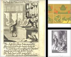 Dekorative Graphik Sammlung erstellt von Antiquariat Hardner