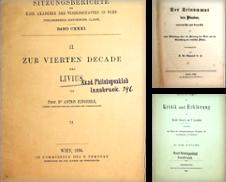 Altphilologie Sammlung erstellt von ANTIQUARIAT.WIEN Fine Books & Prints