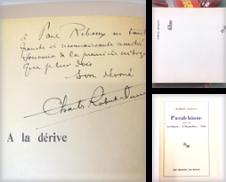 Littérature Proposé par librairiedelamain.ancien