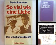 Biographien Sammlung erstellt von Antiquariat Buchtip Vera Eder