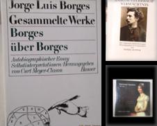 Biographien Sammlung erstellt von Antiquariat Heubeck