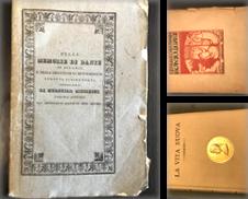 Dante Alighieri Di Maria Calabrò Studio Bibliografico