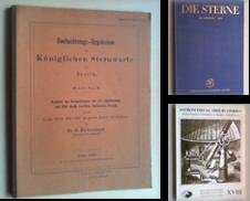 Astrologie und Astronomie Sammlung erstellt von Antiquariat Sander