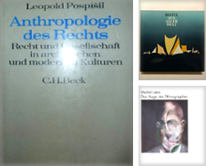 Anthrpologie Sammlung erstellt von Versandantiquariat Georg Koch