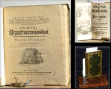 Alte Drucke vor 1800 Sammlung erstellt von Antiquariat Hoffmann