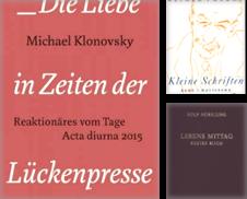 Literatur Sammlung erstellt von Arnshaugkverlag