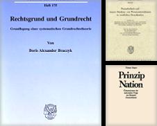 Öffentliches Recht, Verfassungsrecht Sammlung erstellt von Vico Verlag und Antiquariat Dr. Otto