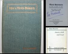 Biographien-Memoiren-Tagebücher-Briefe Sammlung erstellt von Antiquariat Sibylle Böhme