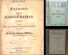 Musik, Musikgeschichte erstellt von Antikvariat Valentinska