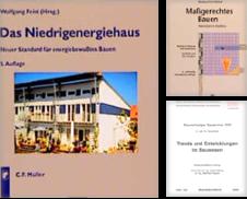 Bauwesen Sammlung erstellt von Antiquariat Thomas Haker GmbH & Co. KG