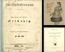 A (NEUEINGÄNGE September 2021) Sammlung erstellt von Antiquariat MEINDL & SULZMANN OG