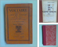 Biographie littéraire Proposé par Librairie de la Garenne