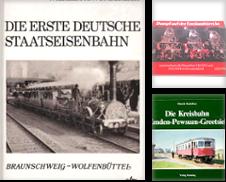 1412 Die Eisenbahn in Niedersachsen Sammlung erstellt von Antiquariat Dr. Christian Broy