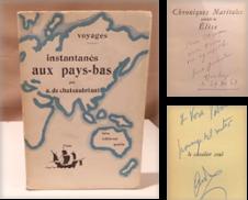 Französische Literatur Sammlung erstellt von Antiquariat Dieter Eckert