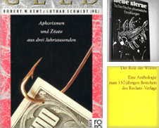 Anekdoten, Anthologien, Briefe Sammlung erstellt von Sigrun Wuertele buchgenie_de