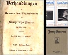 Bayern Sammlung erstellt von Antiquariat Ingrid Degutsch