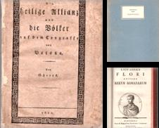 Ältere Literatur Sammlung erstellt von Christian Schaffernicht