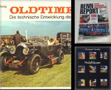 Automobile Autorennen Sammlung erstellt von Antiquariat Johannes Hauschild
