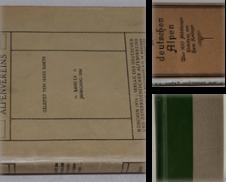 Alpinismus Sammlung erstellt von Antiquariat Reinsch