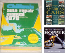 Automotive Curated by Bookworm Bookstore