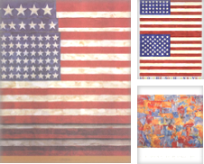 Jasper Johns Curated by Rare Posters